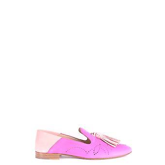 Fratelli Rossetti Ezbc052007 Women's Fuchsia Leather Loafers