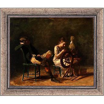 Avances, Thomas Eakins, 61x51cm