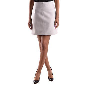 Blugirl Blumarine Ezbc103025 Jupe en polyester gris