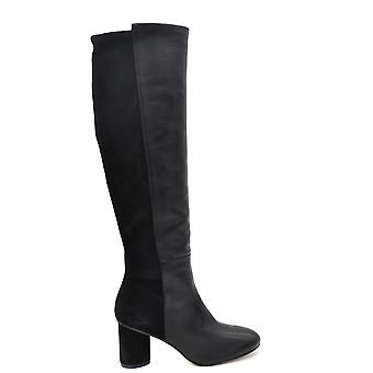Stuart Weitzman Ezbc158016 Dames's Black Leather Boots
