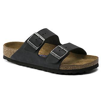 Унисекс взрослых Биркенсток Аризона мягкие ноги смазанный Нубак сандалии