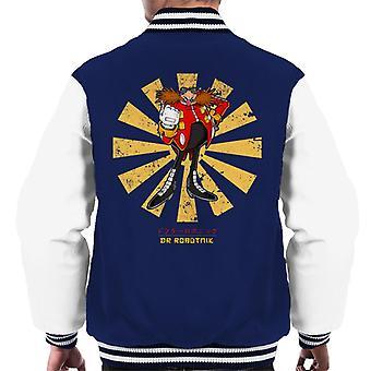 Dr Robotnik Retro Japanese Men's Varsity Jacket