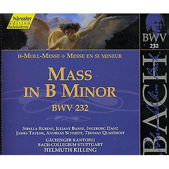 J.S. Bach - Bach: Mass in B Minor, Bwv 232 [1999 Recording] [CD] USA import