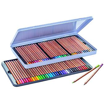 Royal Talens Bruynzeel Expression Series Colour Pencil Tin Of 72