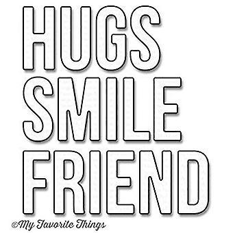 My Favorite Things. Words for Friends Die (MFT-1049)