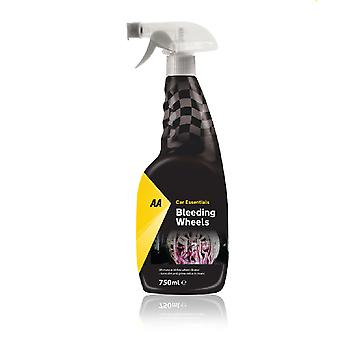 Ruote sanguinanti 750ml AA Car Essentials pulitore di ruote in lega senza acidi