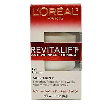 L' Oreal Paris Revitalift-creme de olhos anti-rugas + endurecimento, 14G