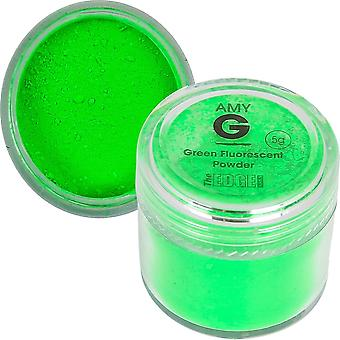 The Edge Nails Amy G - Fluorescent Nail Powders - 5g Green (3003008)