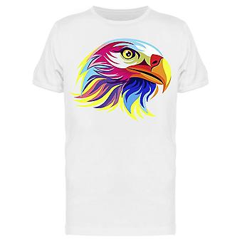 Colorful Eagle Head Tee Men's -Image by Shutterstock