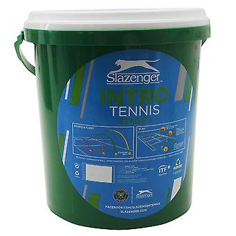 Slazenger Unisex Stage 1 Tennis Ball Bucket