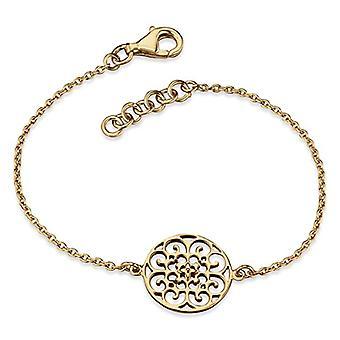 Engelsrufer Silver-plated gold ornament bracelet for women 925-Sterling length 16cm (6 -30') - 2 cm (0.79')