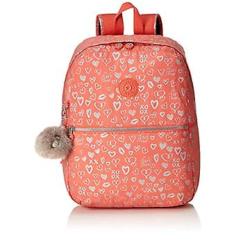 Kipling EMERY Backpack - 42 cm - 22 liters - Multicolor (Hearty Pink Met)