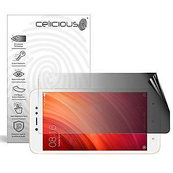 Celicious Privacy 2-Way Landscape Anti-Spy Filter Screen Protector Film Compatible with Xiaomi Redmi Y1
