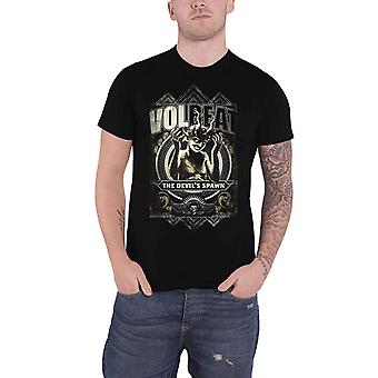 Volbeat T Shirt Devils Spawn Band Logo new Official Mens Black