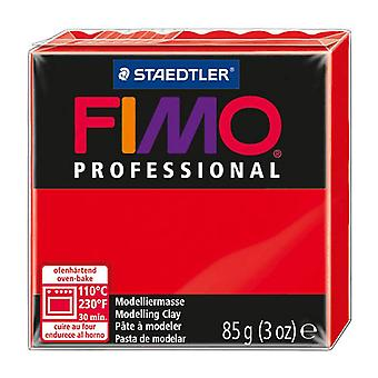 Fimo Professional Modelling Clay, Red, 85 g