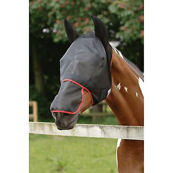 Equilibrium Field Relief Max Fly Mask - Black