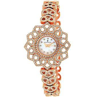 Christian Van Sant Frauen's Chantilly White MOP Zifferblatt Uhr - CV4812