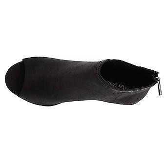 Easy Street Women's Paris Ankle Boot, Black/Snake, 7.5 W US