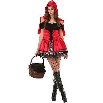 Sizzling Lil ' rødt voksen kostume, M