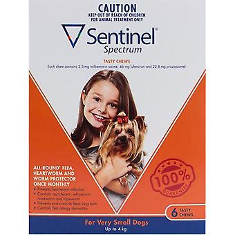 Sentinel Spectrum Dogs Under 9lbs (4kg) - 6 Chewables