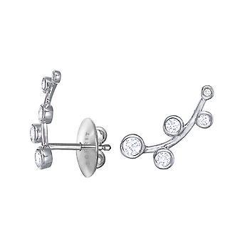 Cristales escarchado de la zirconia cúbico ESPRIT mujer pendientes ESER93023A000
