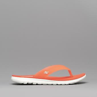 Skechers Nextwave Ultra Ladies Flip Flops Coral