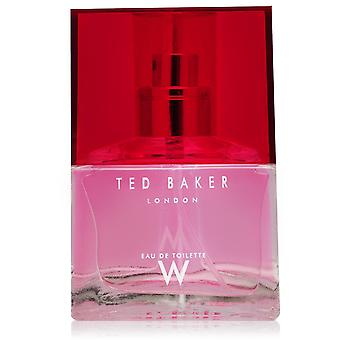 Ted Bakers W Eau De Toilette 30ml Ted Bakers W Eau De Toilette 30ml