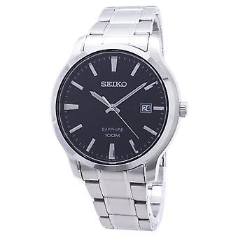 Seiko Neo Classic Quarz Saphir 100M SGEH41 SGEH41P1 SGEH41P Herren's Uhr