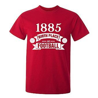 サウサンプトン生れサッカーの t シャツ (赤)