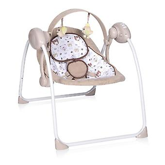 Lorelli Baby Rocker Portofino, Foldable, 12 Melodies, Timer, 5 Steps, Adapter