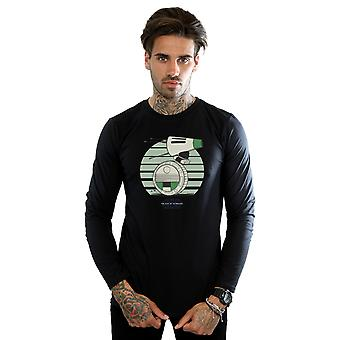 Star Wars Men's The Rise Of Skywalker D-O Rolling Green camiseta de manga larga