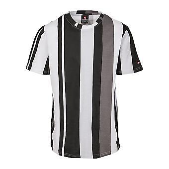 Southpole Men's T-Shirt Vertical Block AOP