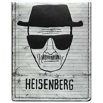 AMC Breaking Bad Walter Heisenberg ID & Card Bi-Fold Wallet