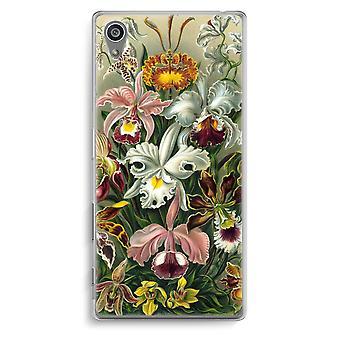 Sony Xperia Z5 Transparent Case - Haeckel Orchidae