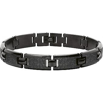 B533291 de trinquete - pulsera acero mujer negra de ATLANTA
