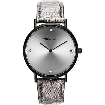 Tamaris - Wristwatch - Berit - DAU 40mm - Black - Ladies - TW073 - black light blue
