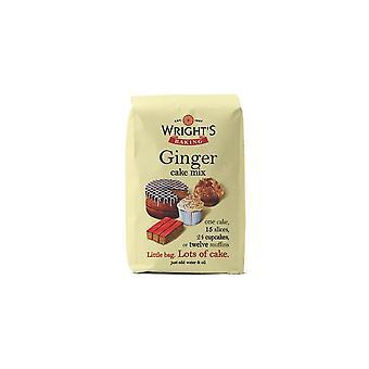 Wrights bakning Ginger Cake mix-5 X 500g