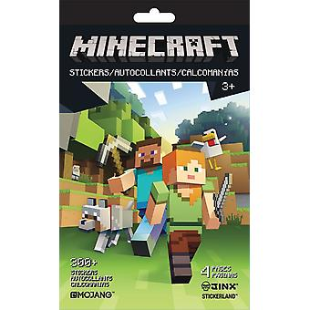 Stickerland Pad - Minecraft - 4 pages Toys Gifts Stationery New st5297