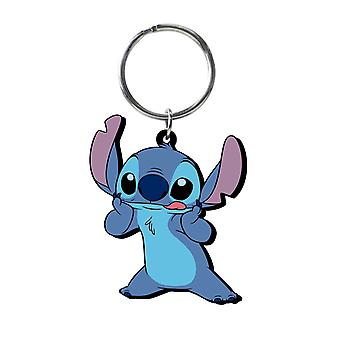 PVC Key Chain - Disney - Stitch Soft Touch - Licensed - 25089