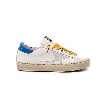 Golden Goose G36ms945o7 Men's White Leather Sneakers
