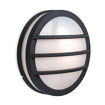 Firstlight Ekliptik Moderne schwarz Outdoor Flush Wandleuchte