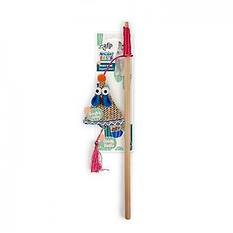 AFP Varita Raton Whisker Fiesta (kissat, lelut, Teaser varret)