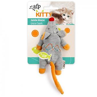 AFP Ratón Jumbo Kitty (Cats , Toys , Plush & Feather Toys)