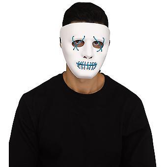 White illumo Mask Adult