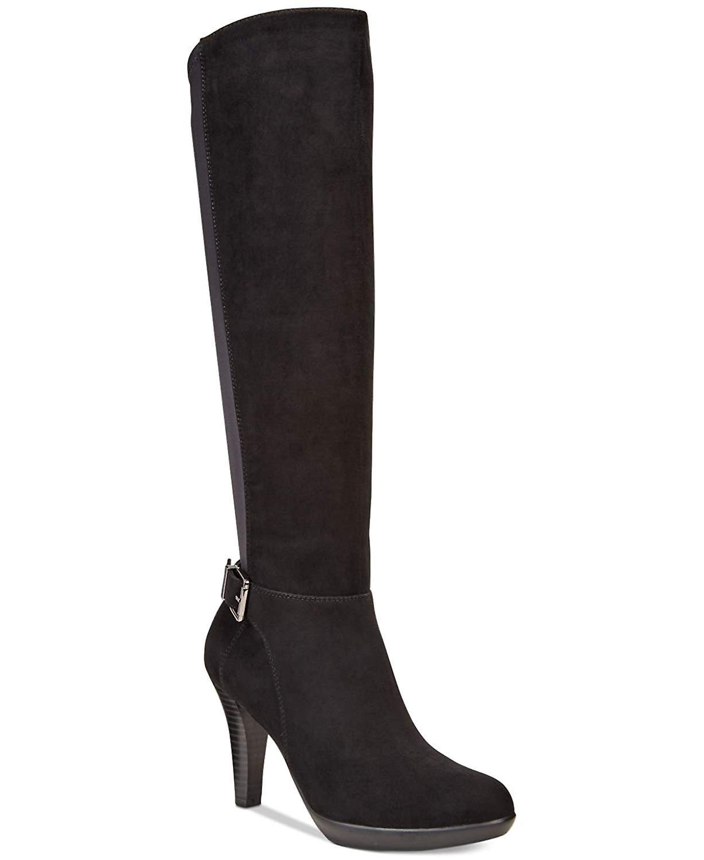 Alfani Womens Vennuss Almond Toe Knee High Fashion Boots v1N5n
