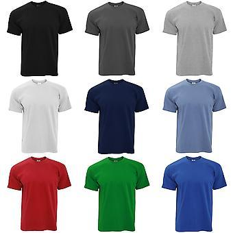 B & C nøyaktig 190 Mens Crew hals t-skjorte / Mens kort ermet t-skjorte