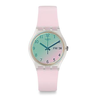 Swatch Watches Ge714 Ultrarose Pink Silicone Watch