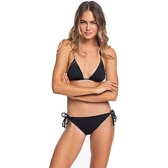 Roxy Beach Klassiker Tiki Tri Bikini i True Black