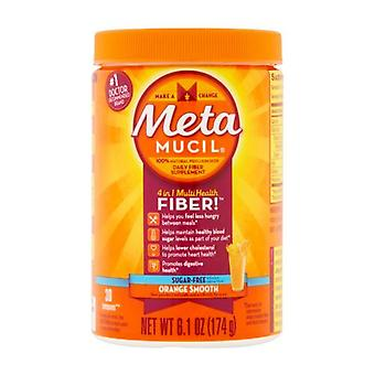 Metamucil multihealth волокна, сахара, апельсин, 30 доз, 6.1 oz