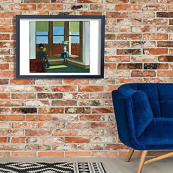 Edward Hopper - kamer in Brooklyn Poster Print Giclee